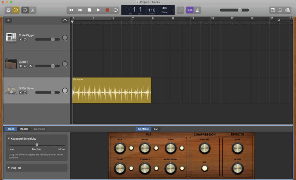 Free DJ Software GarageBand