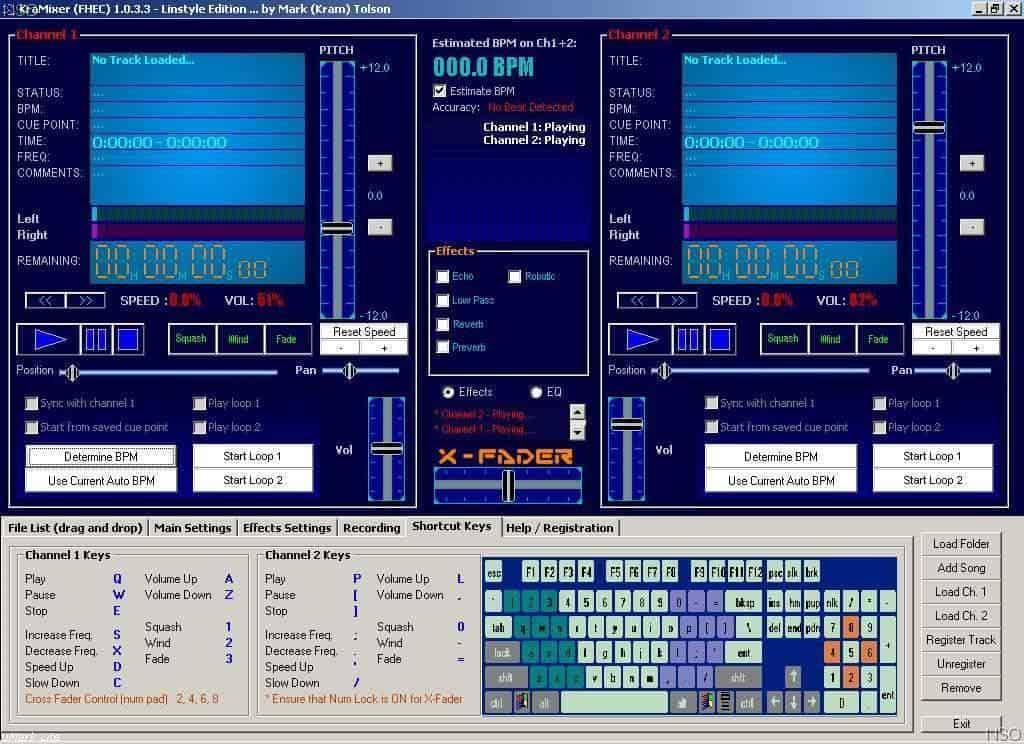 Free DJ Software Kra Mixer