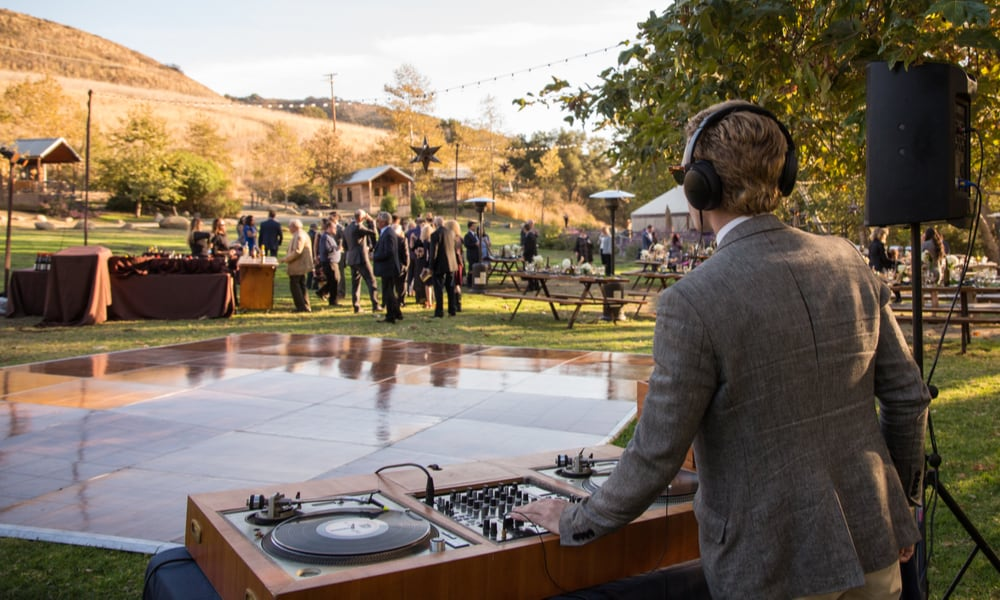 Selling your soul – the wedding DJ $1000 per event