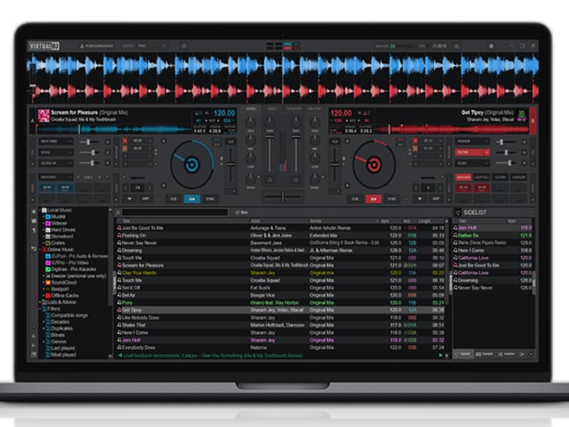 Free DJ Software Virtual DJ