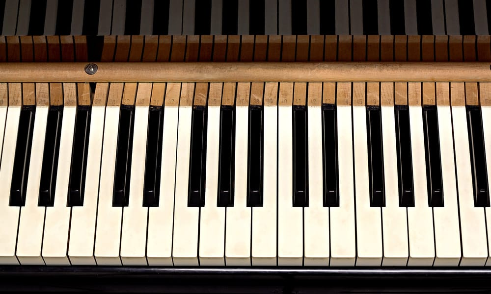 How to Unstick Piano Keys