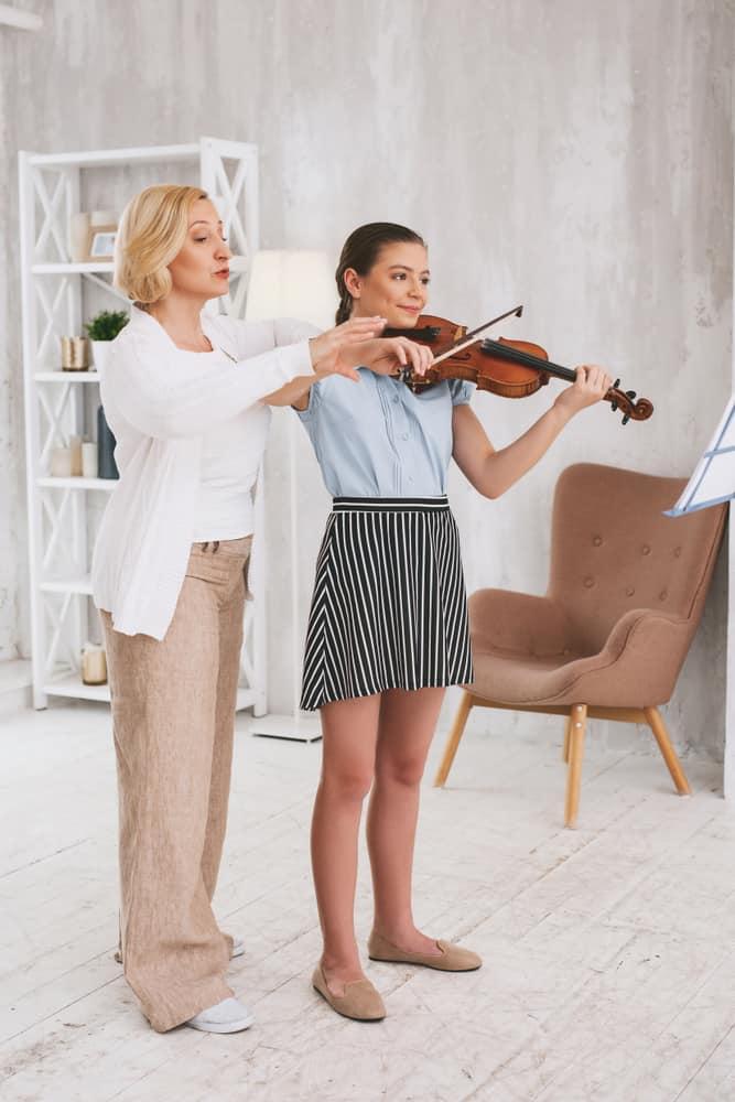 Correct Posture Violin