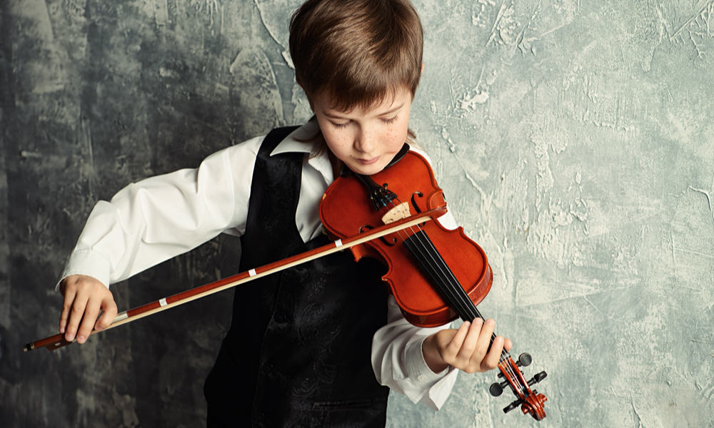 Experience of the violinist