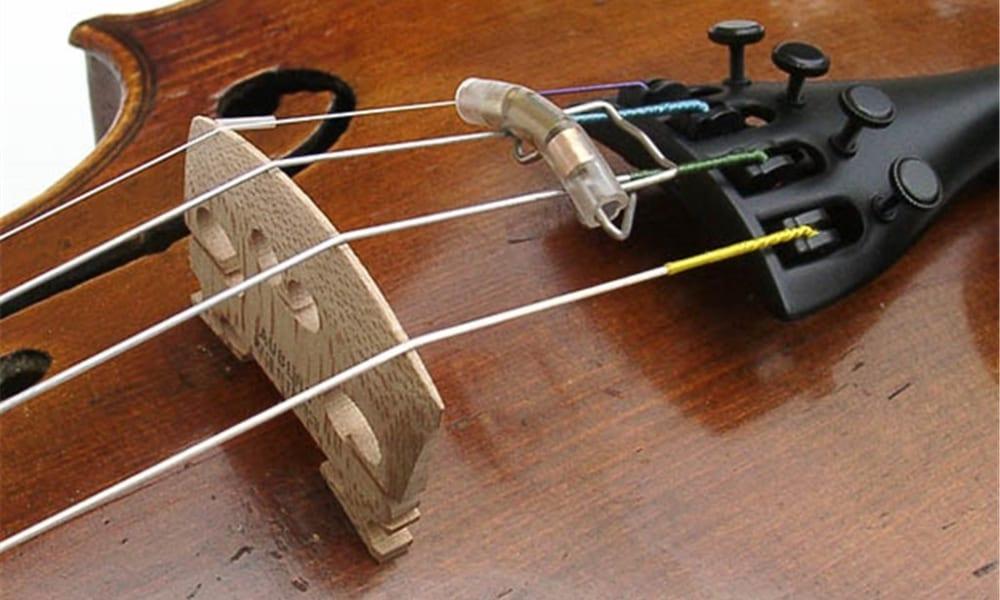 Slide-On Violin Mute