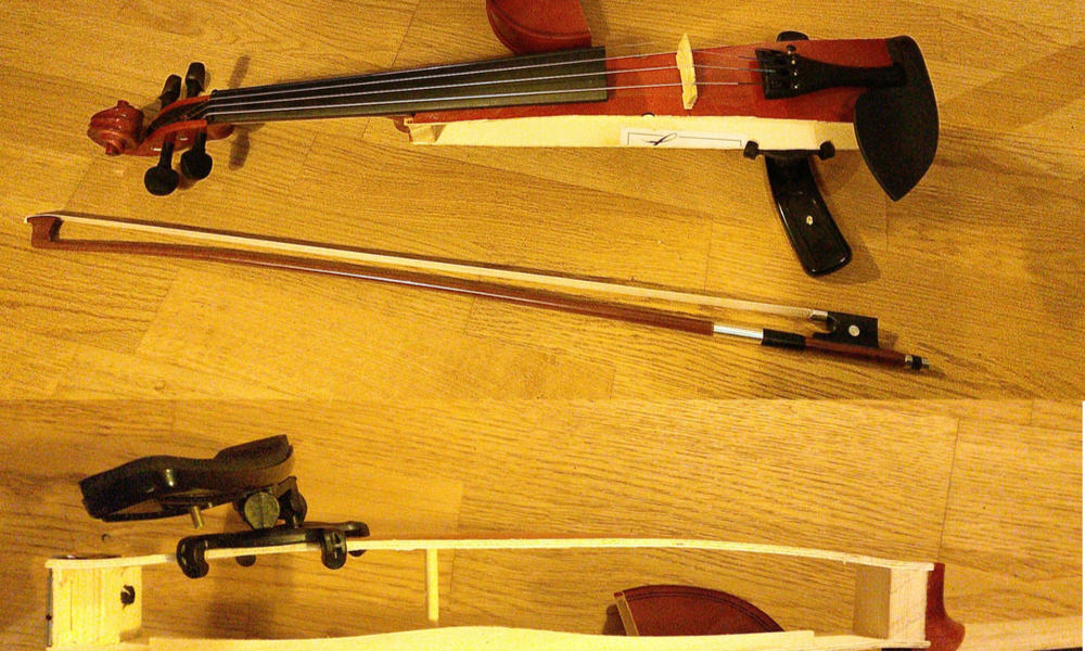 DIY Travel Violin