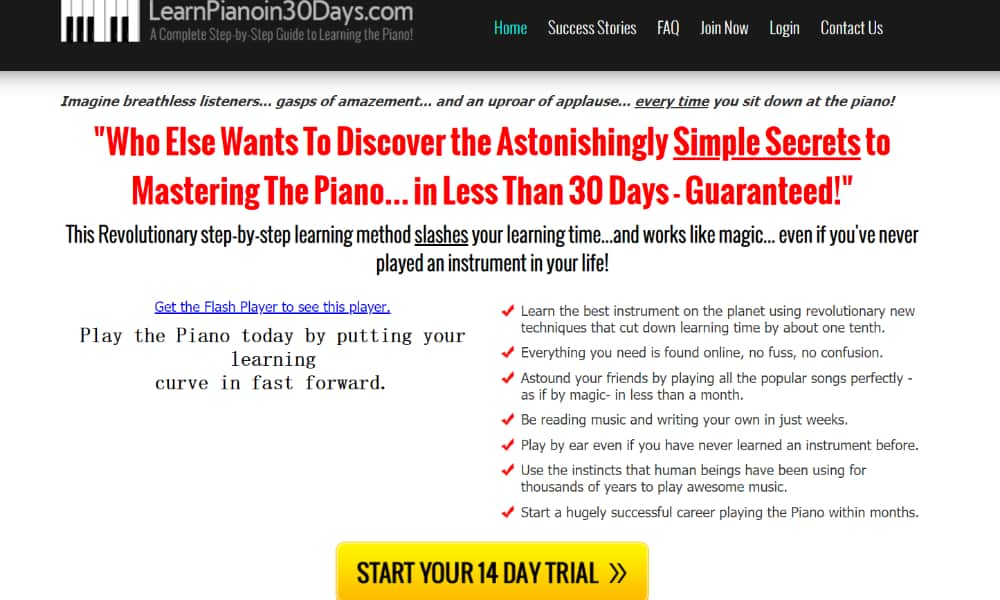 Learn Piano in 30 Days