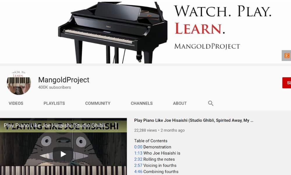 Mangold Project