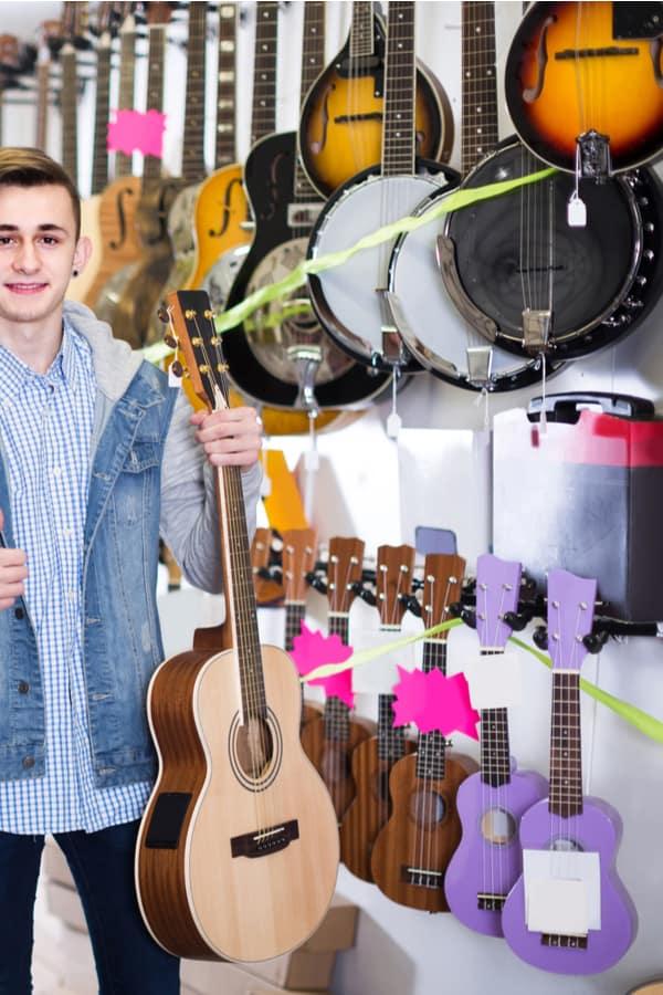 Mandolin vs. Guitar - Price