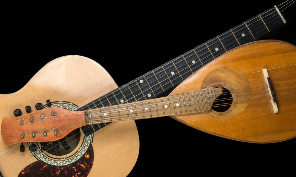 Mandolin vs. Guitar - Strings